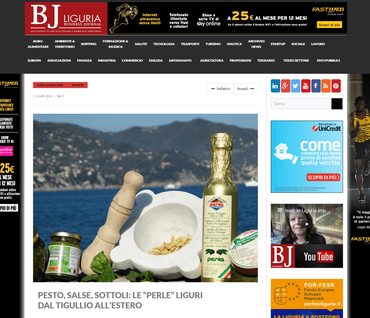 Bj Liguria 13 Aprile 2016