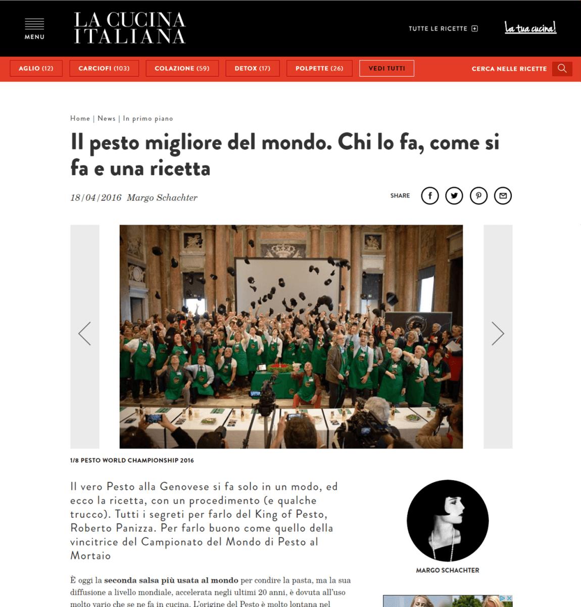 La Cucina Italiana - 18 Aprile 2016