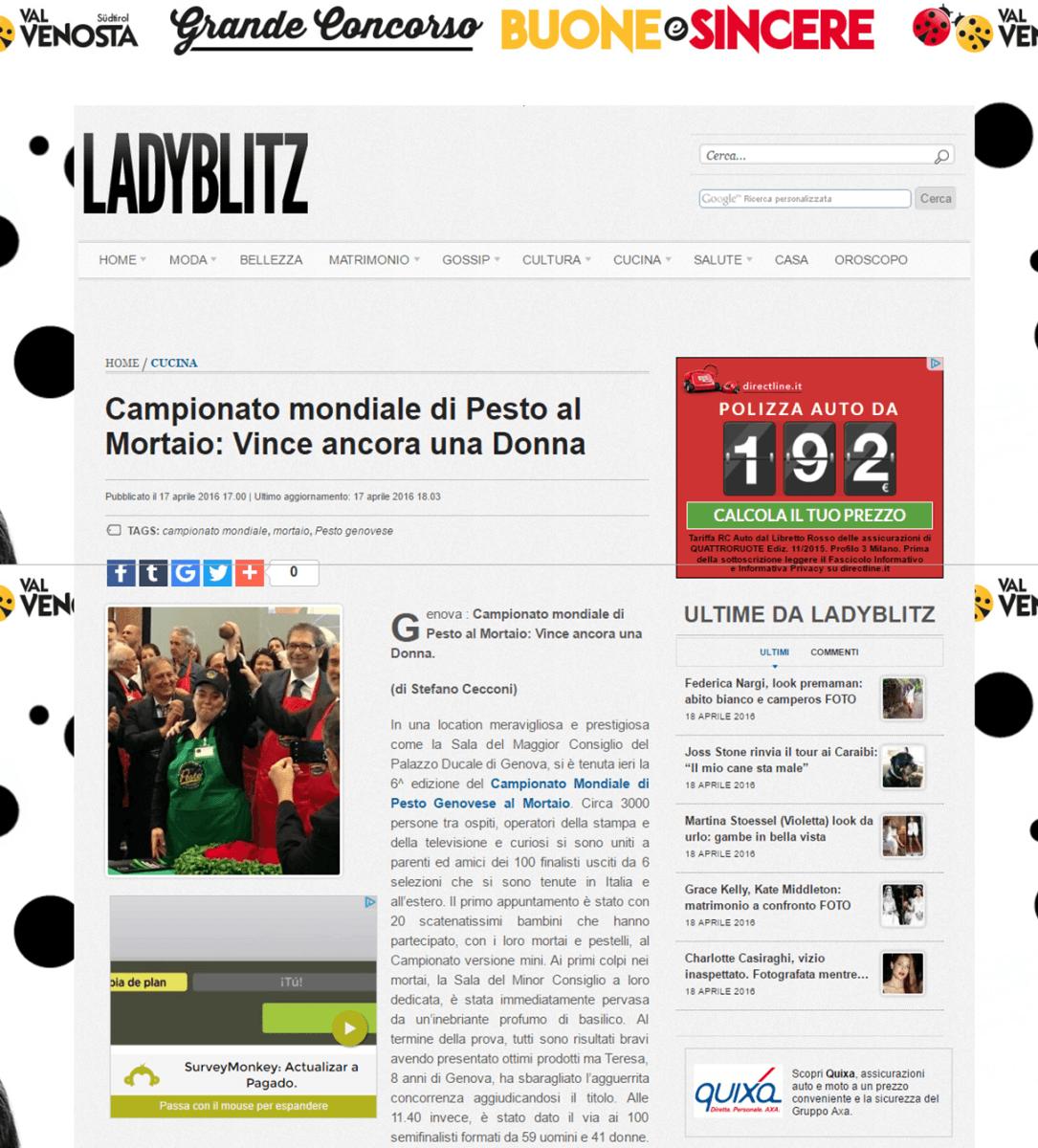 LadyBlitz - 17 Aprile 2016