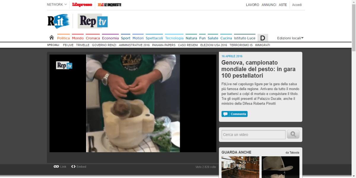 La Repubblica Video - 16 Aprile 2016