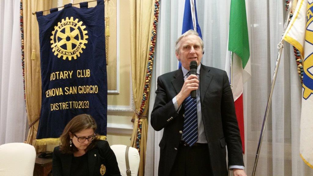 Rotary Club San Giorgio, Genova 19/05/2016