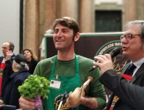 Emiliano Pescarolo Campione del Mondo di Pesto a Mortaio
