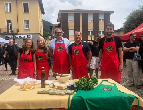 Demonstration of Pesto at Moto Guzzi Rally