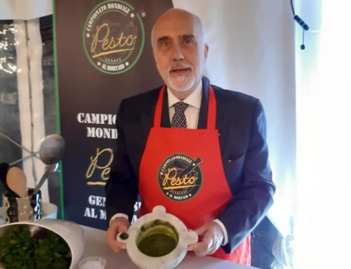 Pesto Demonstration in Matera