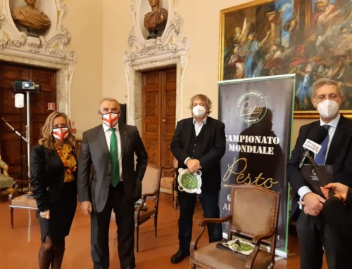 The press conference of the VIII Genova Pesto World Championship